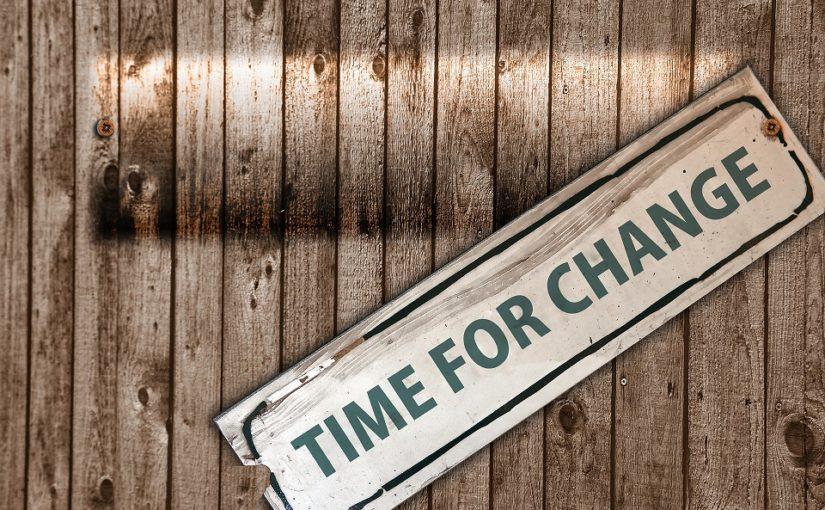 Wer Erfolg haben will, muss sich verändern!